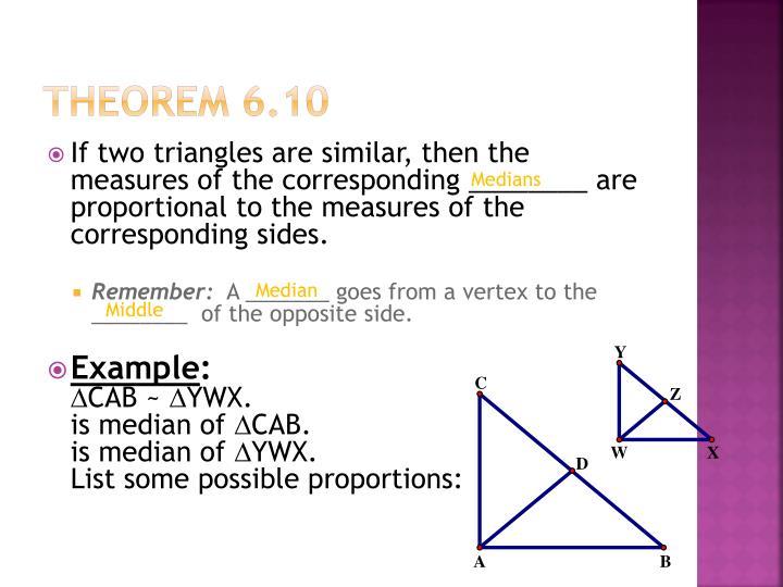 Theorem 6.10