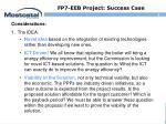 fp7 eeb project success case