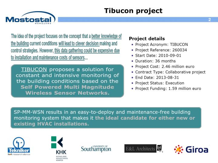 Tibucon project