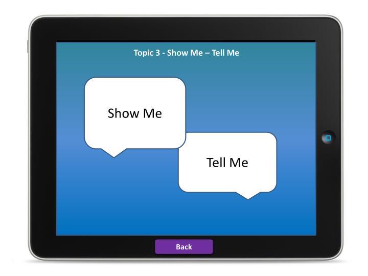 Topic 3 Show Me