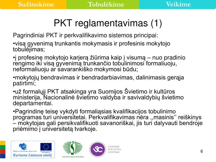 PKT reglamentavimas (1)