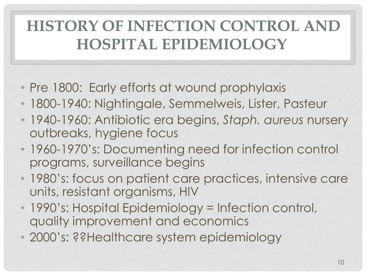 history of epidemiology Epidemiology: a timeline  • the father of demography and descriptive epidemiology  • major event in history of public health the founding event of the.