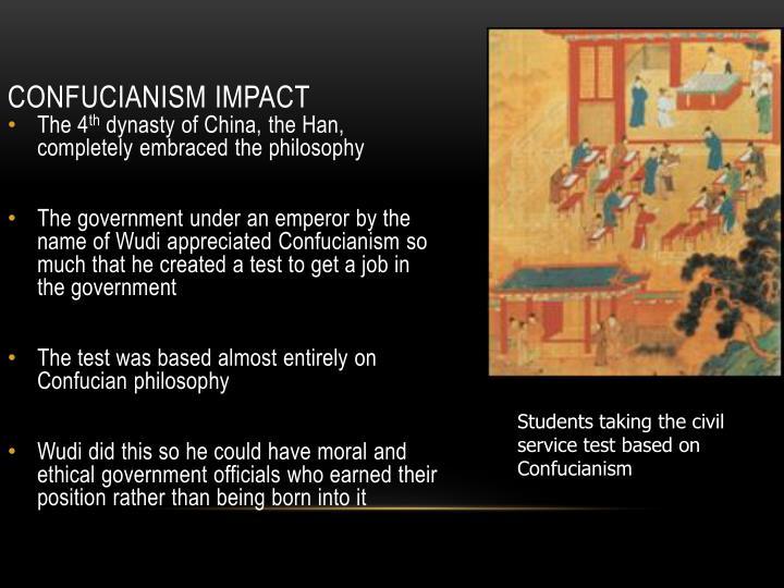 Confucianism Impact