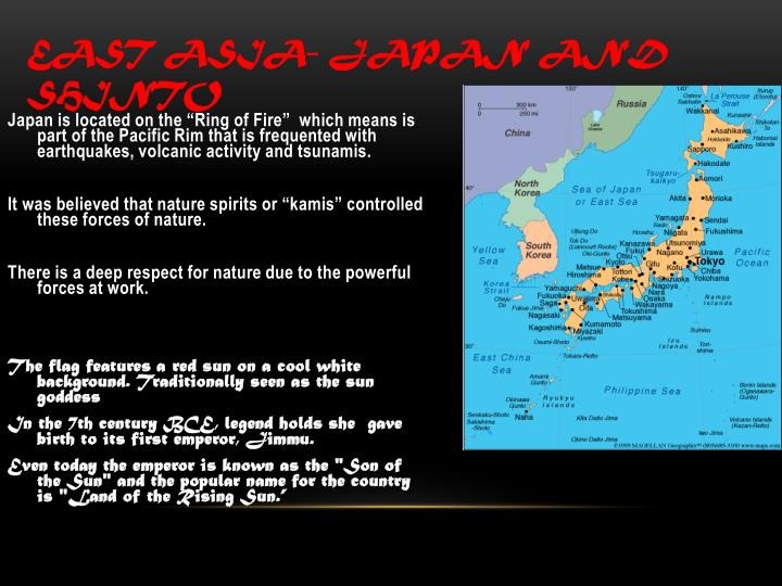 East Asia- Japan and Shinto