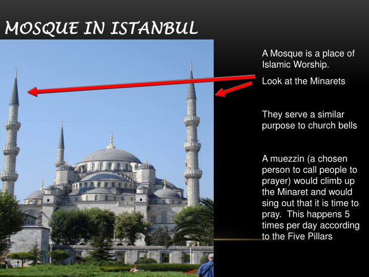 Mosque in Istanbul