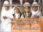 perkembangan moral agama