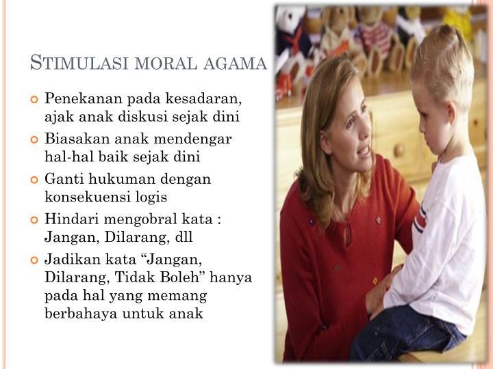 Stimulasi moral agama