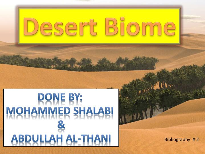 biome powerpoint presentation