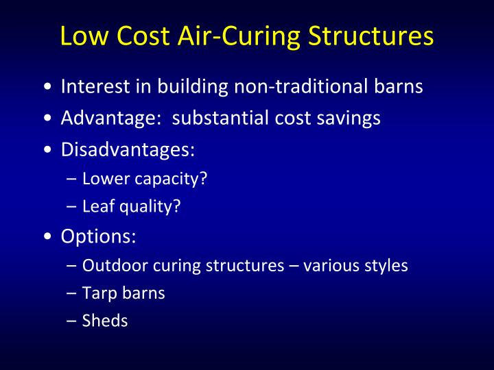 Low Cost Air-Curing Structures