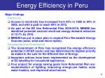 energy efficiency in peru2