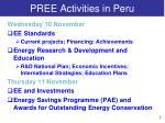 pree activities in peru3