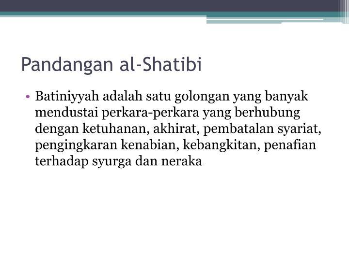 Pandangan al-Shatibi