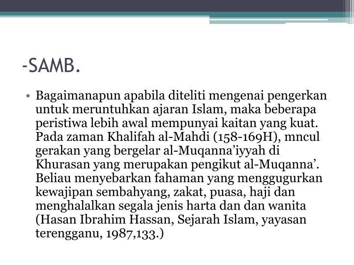 -SAMB.