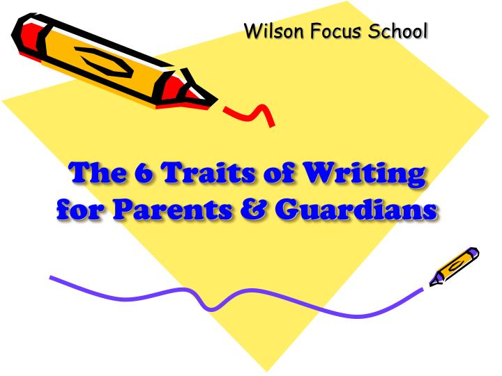 writing traits definition