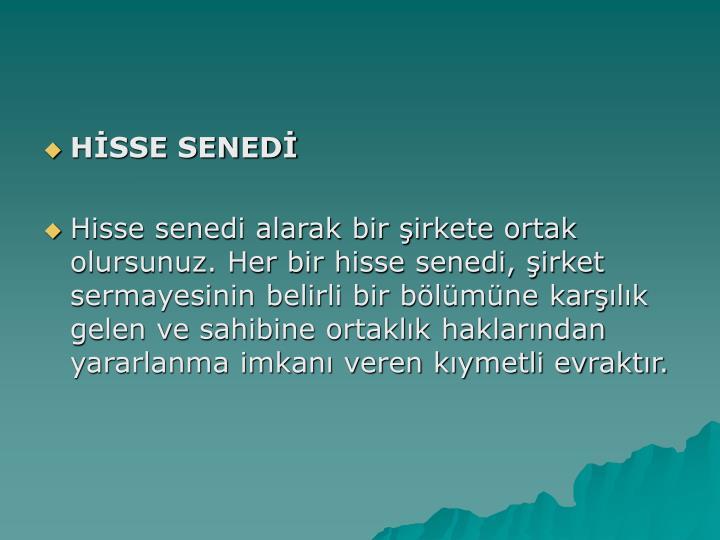 HSSE SENED
