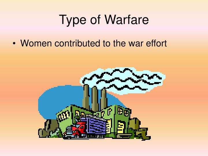 Type of Warfare