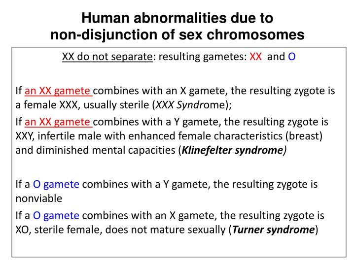 Human abnormalities due