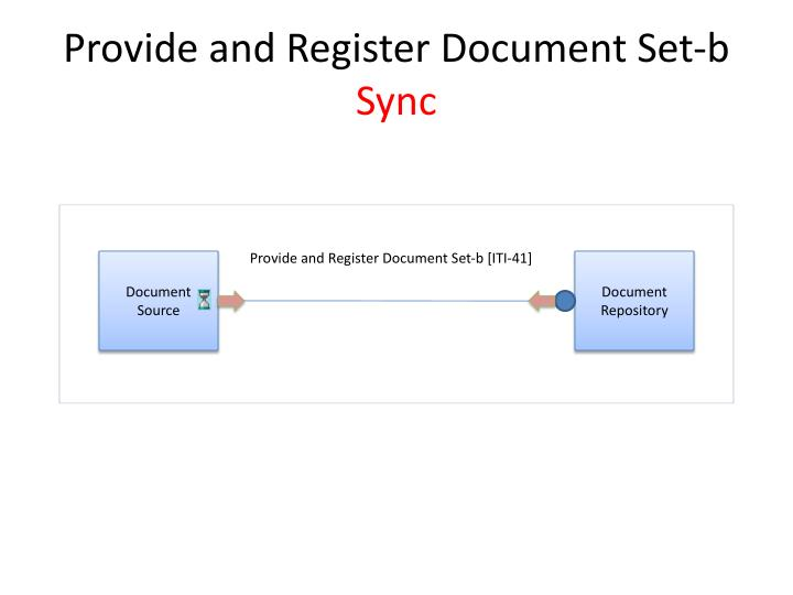 Provide and Register Document Set-b
