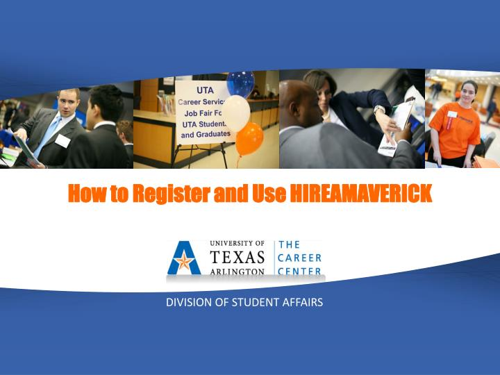 How to Register and Use HIREAMAVERICK