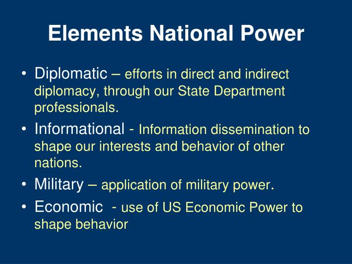 Elements National Power