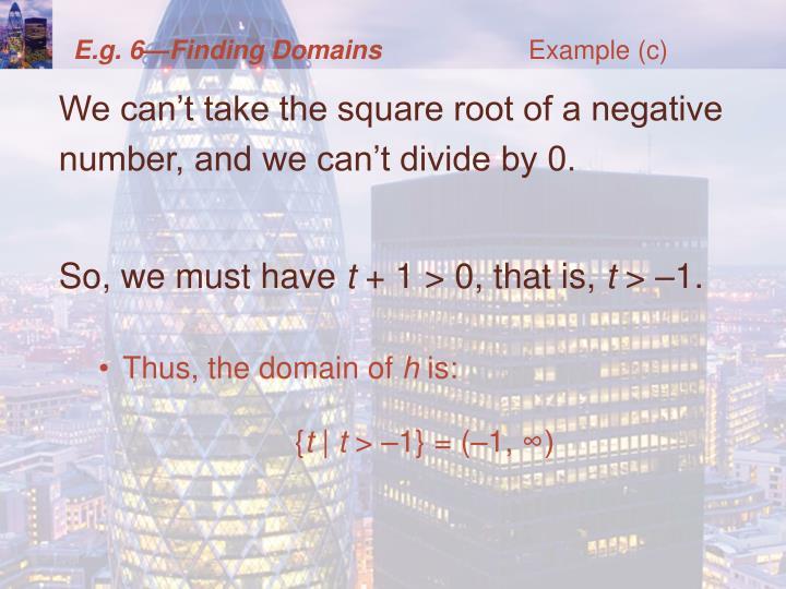 Example (c)