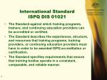 international standard ispq dis 01021
