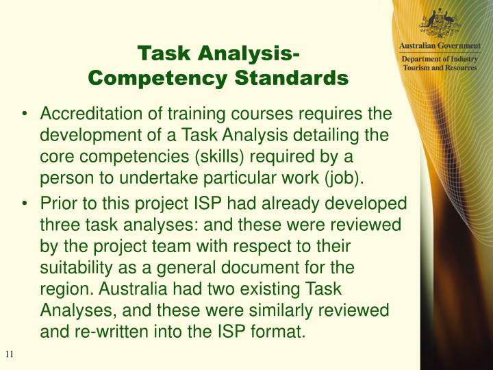 Task Analysis-