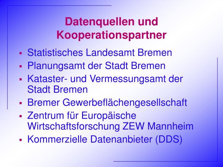 Datenquellen und