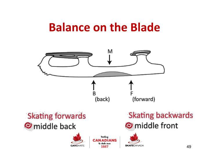 Balance on the Blade