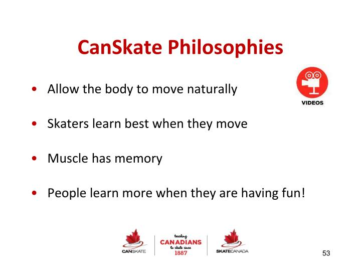 CanSkate Philosophies