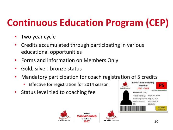 Continuous Education Program (CEP)