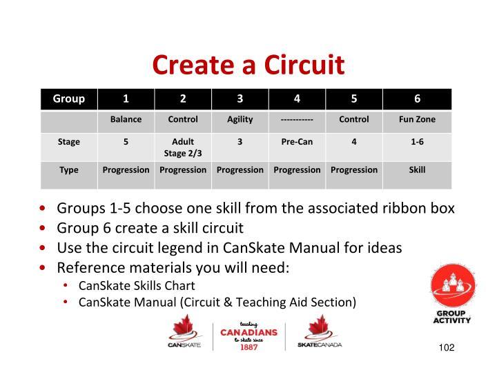 Create a Circuit