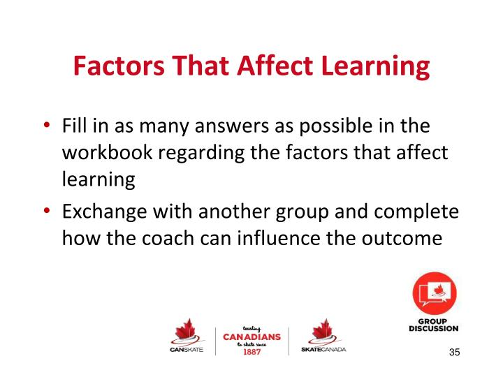 Factors That Affect Learning