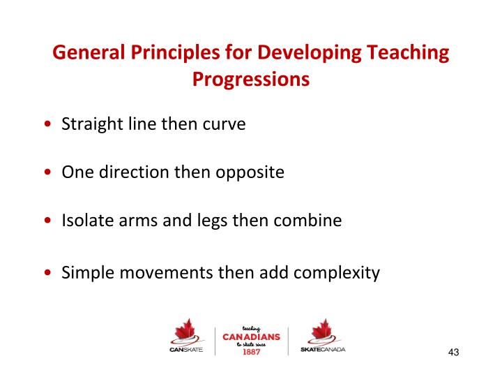 General Principles for