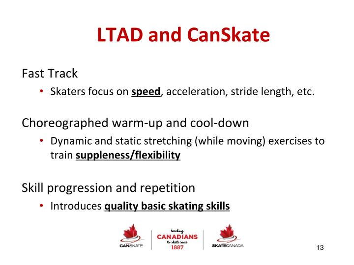 LTAD and CanSkate