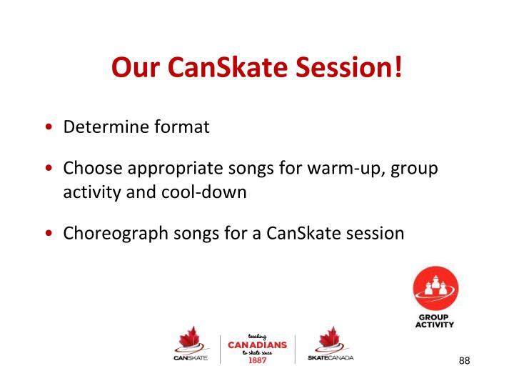Our CanSkate Session!