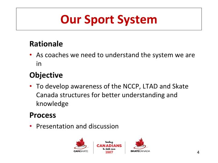 Our Sport System