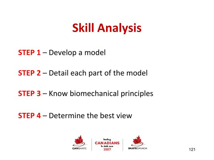 Skill Analysis