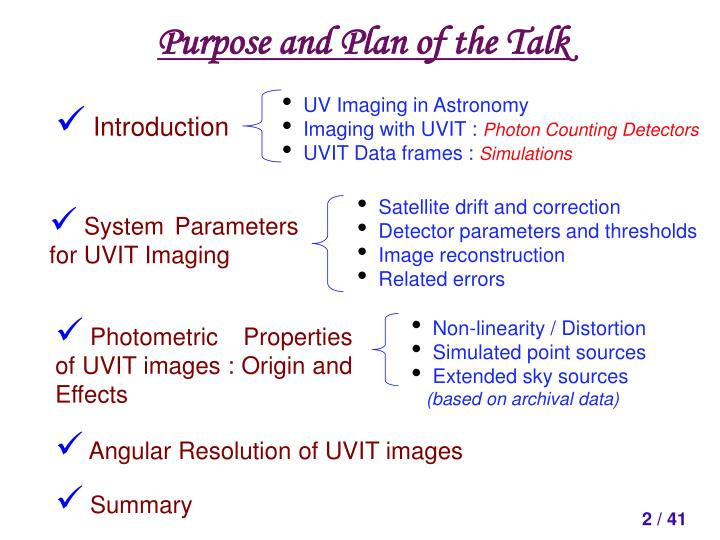 UV Imaging in Astronomy