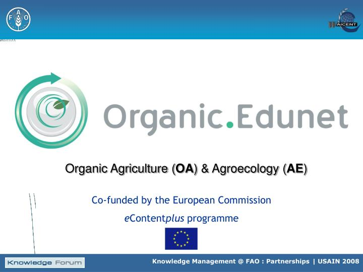 Organic Agriculture (