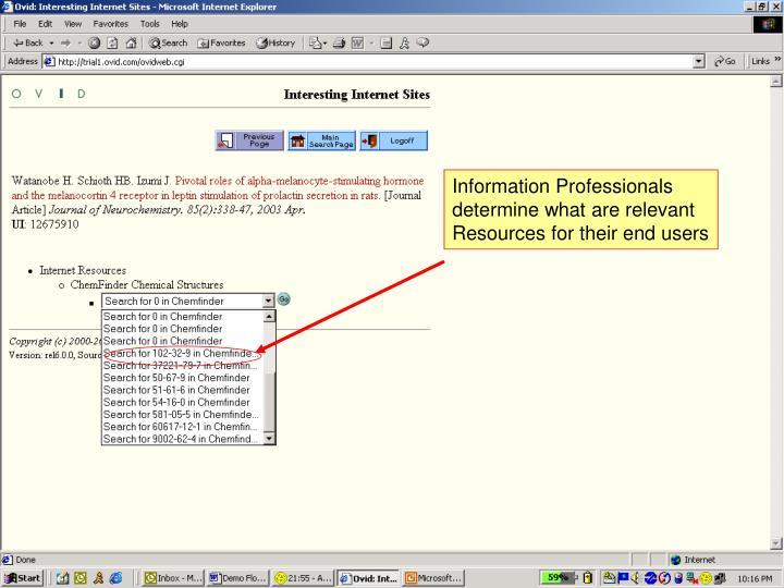 Information Professionals