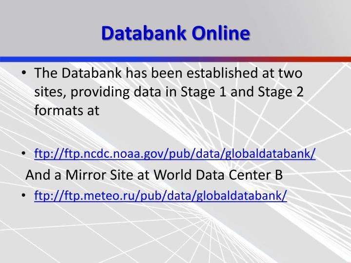 Databank Online