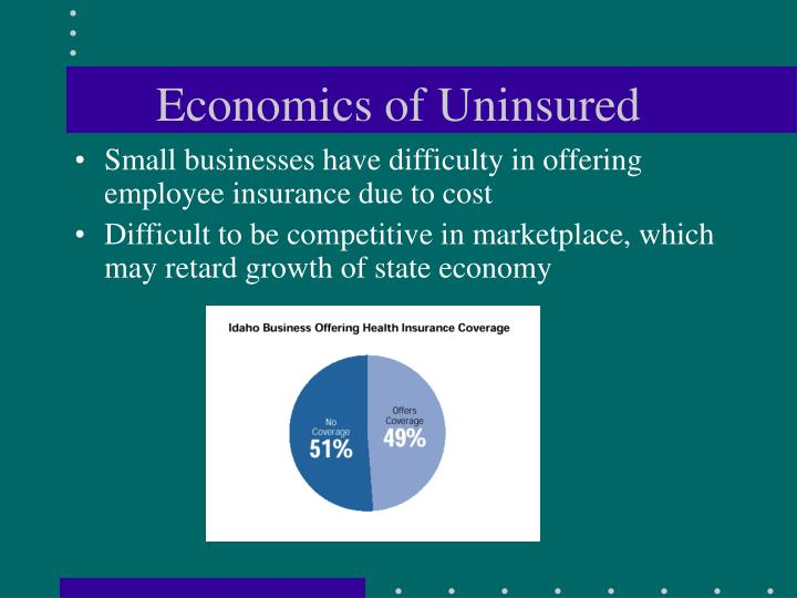Economics of Uninsured