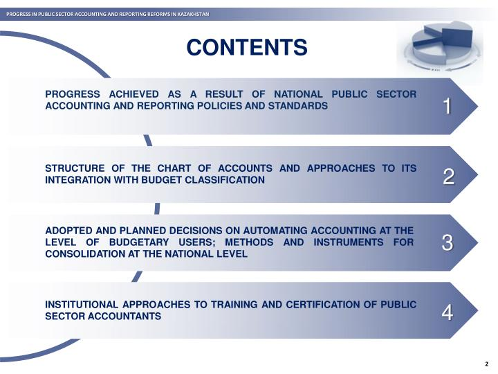 PROGRESS IN PUBLIC SECTOR ACCOUNTING AND REPORTING REFORMS IN