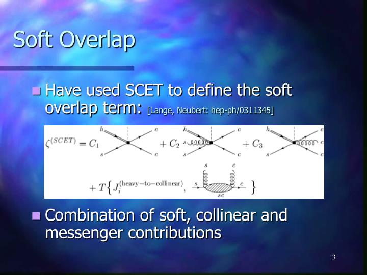 Soft Overlap