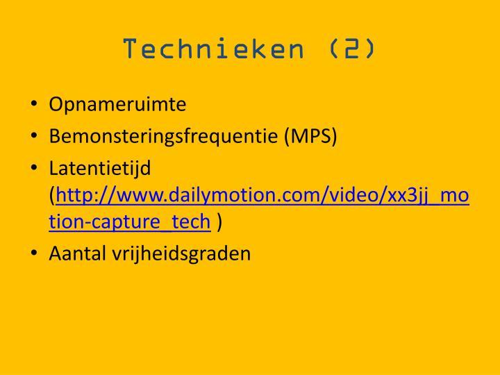 Technieken (2)