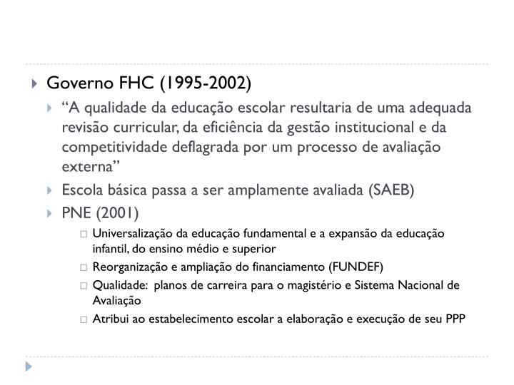 Governo FHC (1995-2002)