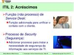 itil 2 acr scimos