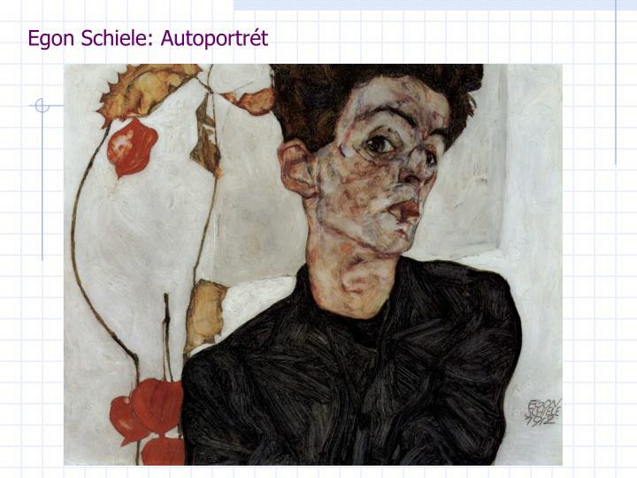 Egon Schiele: Autoportrét