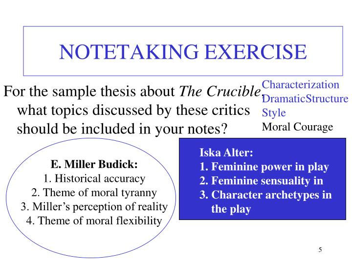 Note taking term paper